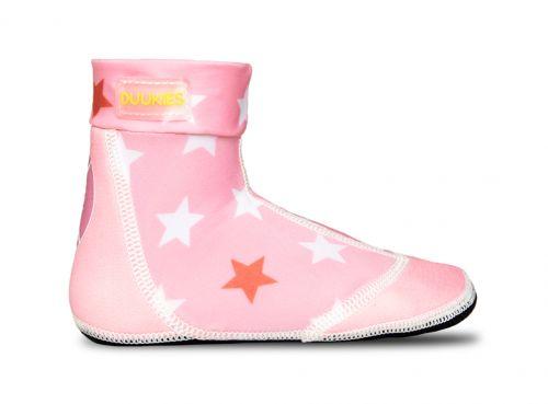 Duukies Beach Socks - Juul (Pink Stars)