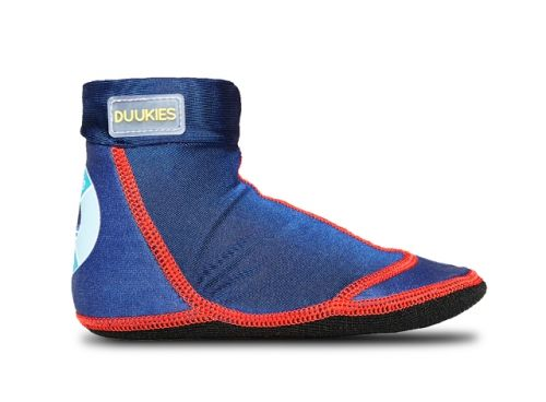 Duukies Beach Socks - Max (Blue Red)
