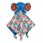 Elephant Comforter Baby Blankie