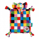 Elmer Elephant Comforter Baby Blankie