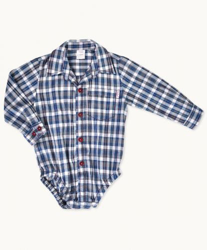 El Dorado Shirt Romper (size 3 months to 3 years) by Eternal Creation