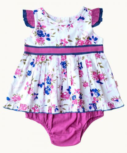 Lillian Top & Knickers Set (Sizes NB to 18 mths) by Eternal Creations