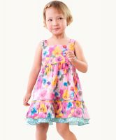 Eternal Creation - Sweet Floral Time Dress (size 1- 4 years)