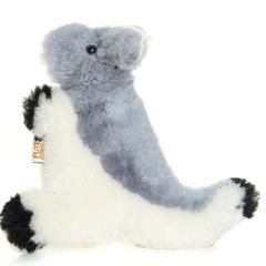 My Flat Friend Grey Kangaroo Lambskin Soft Toy