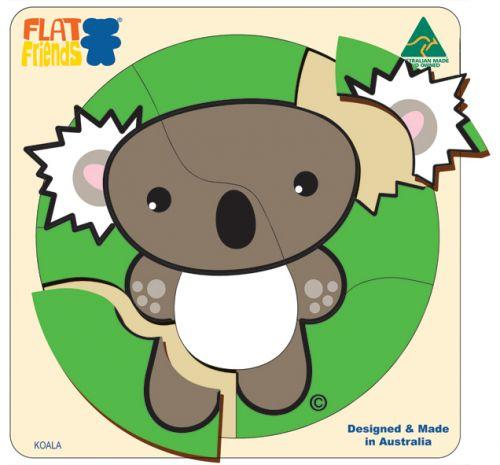 Flat Friends Koala Puzzle