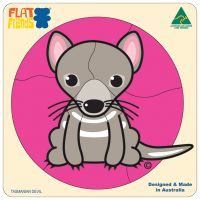 Flat Friends Tasmanian Devil Puzzle