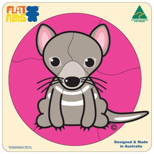 Flat Friends Tasmanian Devil Puzzle