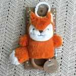 Phoebe Fox Dingaring Teething Toy Rattle (Fox)