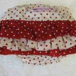 Frilly Tushies - Jam n Cream Nappy Cover