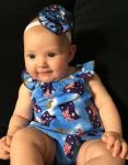 Frilly Tushies - Aussie Playsuit