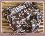 Tuff Tushies - Handsome Christmas Nappy Cover