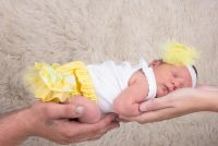 Frilly Tushies - Little Chick Nappy Cover (Size 000 to 1)