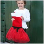 Tutu Christmas Stocking - Santa Sack
