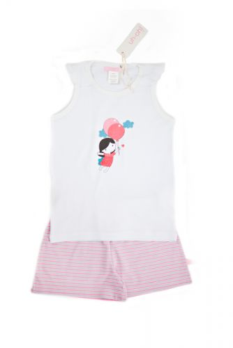 Balloon Girl Singlet/Tanktop Pjs (size 4 and 5)