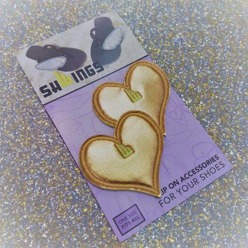 SHWINGS - SHOE CLIP ON LOVE HEARTS
