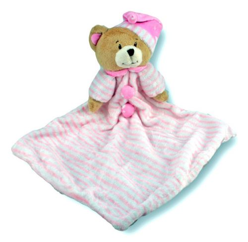 Baby Bear Blankie Pink - Baby Comforter