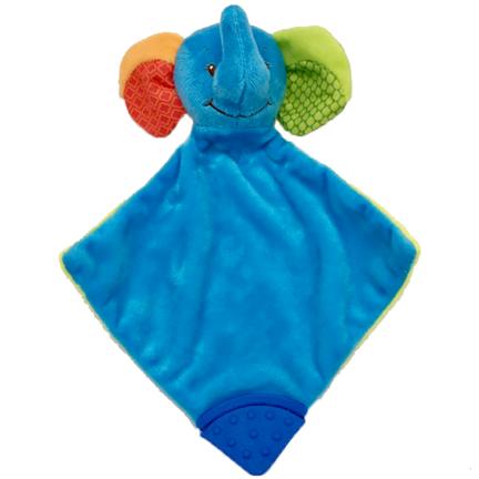 Connor Elephant Comforter Baby Blankie
