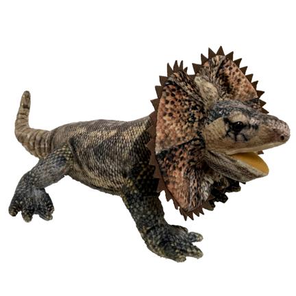 Norbert Frillneck Lizard soft toy