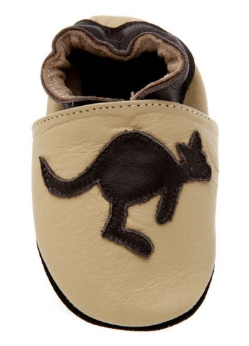 Kangaroo Soft Soled Shoes - Australian Animal - only small size left