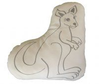 Snuggle Cushion Kangaroo