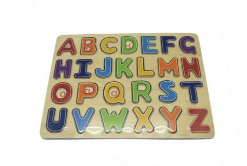 Alphabet - Capital Letter Board Puzzle