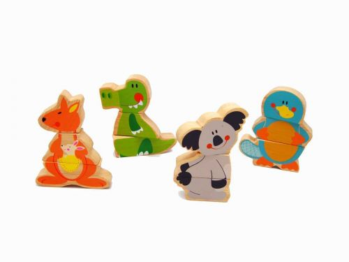 Aussie Bunch Interchangeable Magnetic Animals