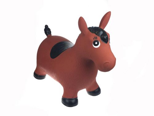 Brown Pony Horse Bouncy Rider  - Hopper