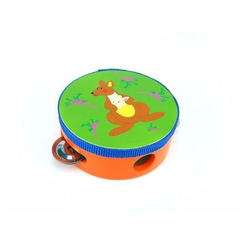 Aussie Animal - Kangaroo Tambourine