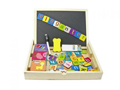 Magnetic Alphabet Box