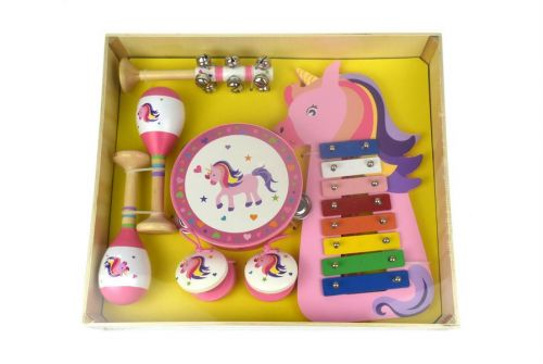 7 Piece Unicorn Musical Set