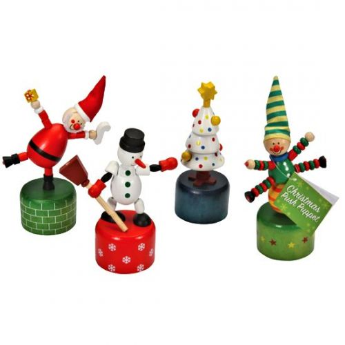 Christmas Push Up Toy (various designs)