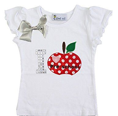 I Love Preschool Tee (last one left)