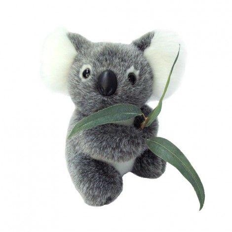 Koala with Leaf Australian Made