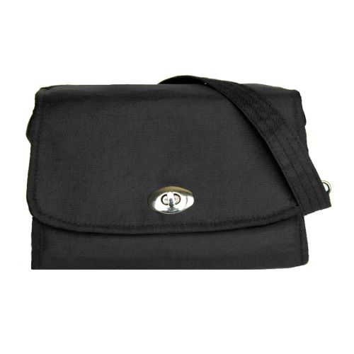 Lillybit Diaper/Nappy Clutch -Nappy Bag - Classic Black