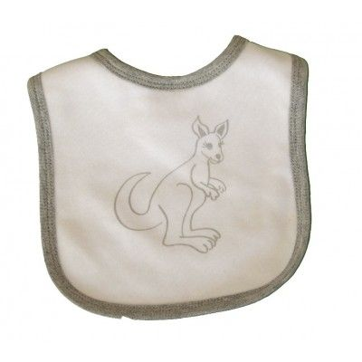 Kangaroo Bib - Aussie Animal