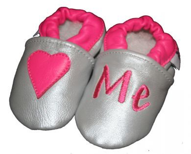 SKEANIE Love Me - Soft Sole - Silver