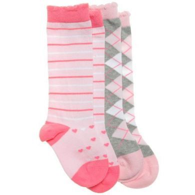 Knee High Socks - Looking Glass - Organic -2 Pack (only 0-12mths left)