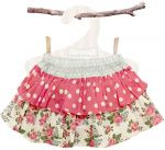 Love Henry Rose Frilly Pilchers Skirt (Sizes 000 to 2)