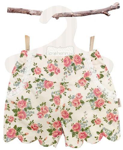 Love Henry Rose Scalloped Hem Shorts (Sizes 1, 3, 4 5, 6, 8)