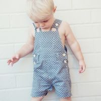 Love Henry Roy Dungaree/Overalls - Retro Navy (Sizes 000 to 2)