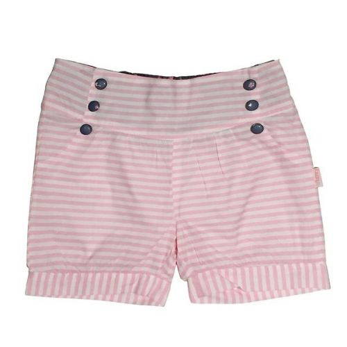 Love Henry Violet Lucy Shorts - Pink Stripe (Sizes 00 to 2)