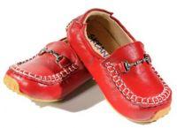 SKEANIE Loafers - Junior - Red