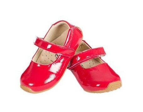 SKEANIE Mary Janes - Junior - Patent Red Toddler (Old Sizing) Last pair Size 22