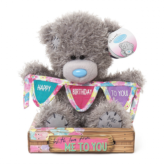 MTY SIGNATURE Happy Birthday Bear with Bunting