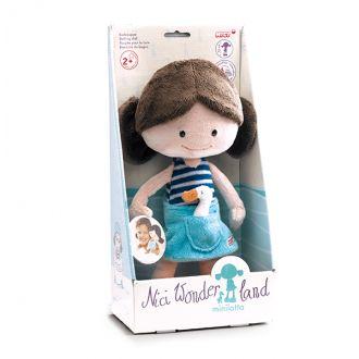 Nici Wonderland Mini Lotta Doll - Bath Friendly