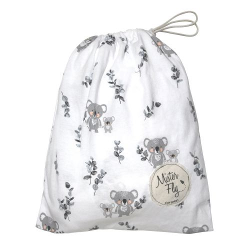Mister Fly - Koala Jersey Cot Sheets - Koala Buddies