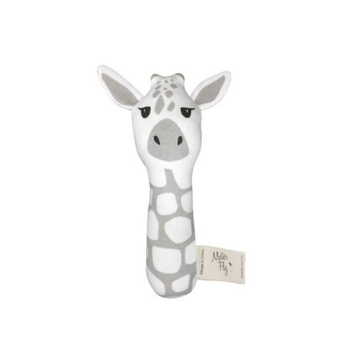Mister Fly -  Giraffe Stick Rattle