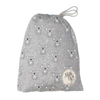 Mister Fly - Koala Jersey Cot Sheets  - Grey