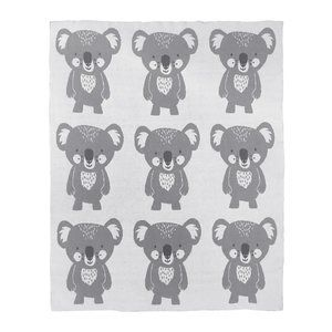 Mister Fly Koala Knitted Blanket