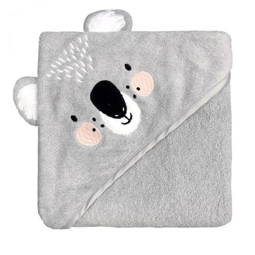 Mister Fly - Hooded Towel -  Koala